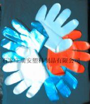 多种颜色PE手套