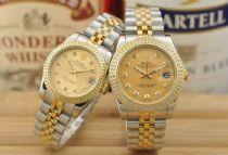 高精仿劳力士手表批发,价格480元起,高档镀金色表壳表带,推荐!