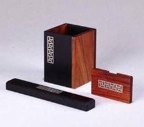 定制红木笔筒 红木笔筒礼品套装,成都红木笔筒批发定做