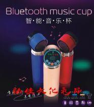 智能水杯 创意智能礼品水杯 mp3收音机多功能水杯批发