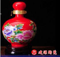 2斤3斤装陶瓷白酒瓶 陶瓷小酒瓶批发厂家