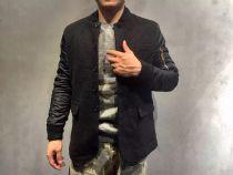 (百万富翁)意大利*品牌,推出新款羊毛夹克,内里夹棉