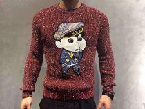 (HBA)年度爆款蜡笔小新系列毛衣,采用纯棉毛料,逼真立体图,上身佳