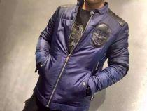 PP(飞利浦▪普兰)风衣棉衣夹克外套,防风防水面料,小羊皮拼接