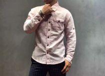 SCOTCH&SODA(缝纫机)精选棉麻材质休闲衬衣,透气舒服