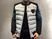 PP(飞利浦▪普兰)新款3D数码两袖孔雀印花羽绒外套,代理价275