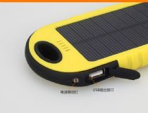 礼品太阳能移动电源批发厂家 工厂批发太阳能充电宝价格