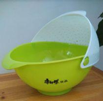 创意厨房沥水篮 塑料洗菜篮洗水果篮淘米筛 创意促销礼品
