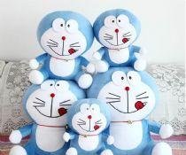 哆啦A梦毛绒玩具 公仔 布娃娃 机器猫 情人节礼物 成都礼品定制