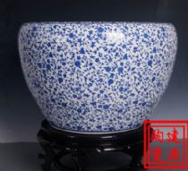 陶瓷大水缸 青花陶瓷大缸生产厂家