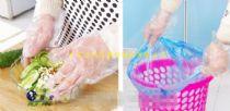 山西一次性塑料PE薄膜手套批发