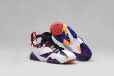 乔7代篮球鞋aj7男鞋女鞋AJ4猛龙兔八哥情侣鞋运动高帮鞋乔6罗