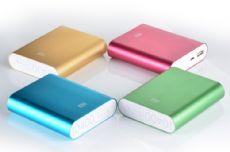 金属小米手机充电宝批发 10400毫安移动电源厂家价格