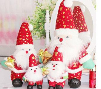 圣诞节毛绒玩具厂家一手货源,品种多价格优!