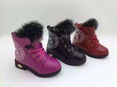 儿童雪地靴库存处理温州保暖鞋棉鞋批发销售