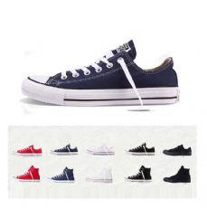 匡威经典款蓝色低帮帆布鞋102329