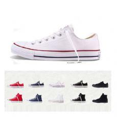 匡威经典款白色低帮帆布鞋101000