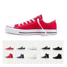 匡威经典款红色低帮帆布鞋101007