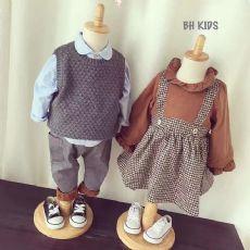 微商欧韩潮流时尚童装厂家一手货源 免费代理一件代发货图片