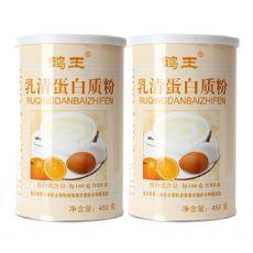 鹤王乳清蛋白质粉453g 儿童成人中老年人蛋白粉