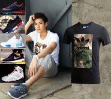 [工厂]耐克、阿迪衣服鞋子,上万货源厂家直供,一件代发免费代理