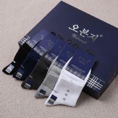 袜子厂家批发销售纯棉中筒袜子