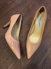 2016春新款真皮女鞋黑色工作鞋浅口单鞋粉红色高跟鞋尖头大码婚鞋