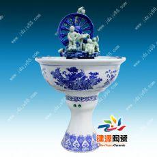 陶瓷流水喷泉摆件 居家陶瓷工艺品 流水喷泉厂家
