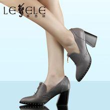 LESELE/莱思丽 秋季牛皮女鞋一件代发免费加盟