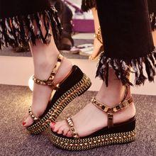 松糕厚底女鞋一件代发批发招淘宝代销