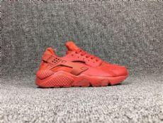 Nike-耐克 华莱士男女中国红网面透气运动跑鞋