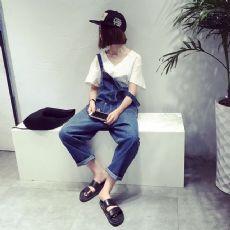 欧韩时尚背带裤
