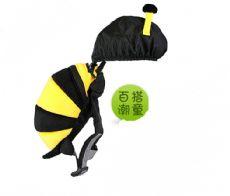可爱卡通娃娃书包幼儿防走失书包男女儿童背包创意双肩包厂家定制