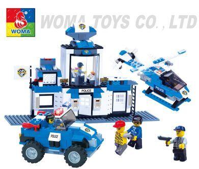 儿童拼装益智玩具/动漫模型玩具批发