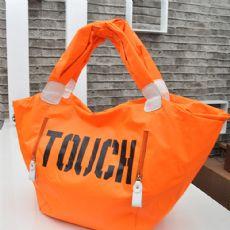 韩版糖果色荧光色尼龙手包 时尚休闲尼龙touch手提包
