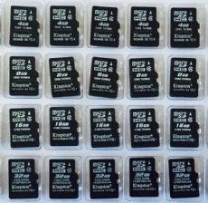 金士顿16GB手机内存卡批发价格 高速闪存卡兼容记录仪