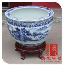 景德镇青花瓷大缸 陶瓷缸厂家图片
