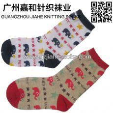 纯棉防滑儿童袜 可爱宝宝儿童袜 广东佛山袜子加工厂