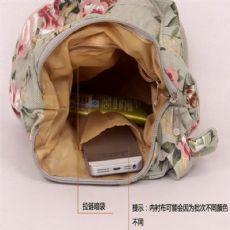 满天星花朵logo购物袋  繁星点点手绘帆布袋 深圳工厂定制