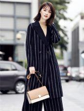 品牌女装折扣欧美潮牌双面羊绒大衣尾货女装