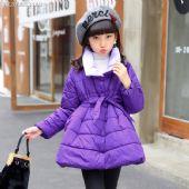 时尚潮童韩版立领羽绒棉棉服