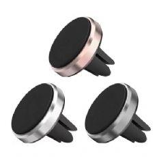 磁性手机支架 金属磁性手机支架 车载出风口磁铁手机支架