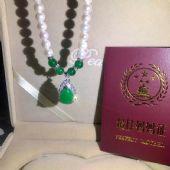 银真美银饰加工厂天然淡水珍珠项链礼盒套装无瑕疵送妈妈的好礼物