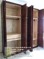 长沙原木家具加工厂、原木衣柜门、酒柜定做辉派专家
