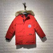 08款加拿大鹅Canada goose胸前章红色抗寒羽绒服