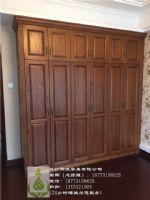 长沙欧式原木家具工厂、原木推拉门、房门订制性价比高