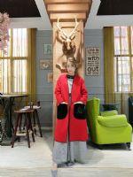 双面羊绒大衣女装折扣货源贝克华菲品牌折扣清仓批发