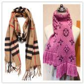 广州高仿原单围巾一手货源 羊绒真丝围巾丝巾披肩