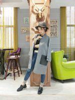 双面羊绒大衣品牌折扣店货源 女装品牌折扣一手货源