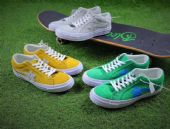 Golf le Fleur x Converse玩味咔叽板鞋